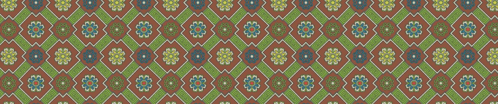 中国传统织锦图案与配色十三,矢