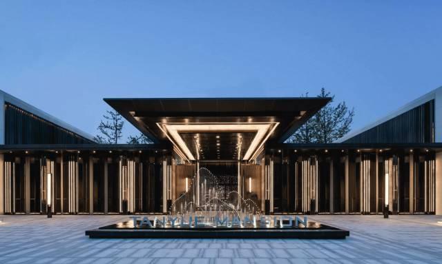 新中式建筑,极简宋韵对