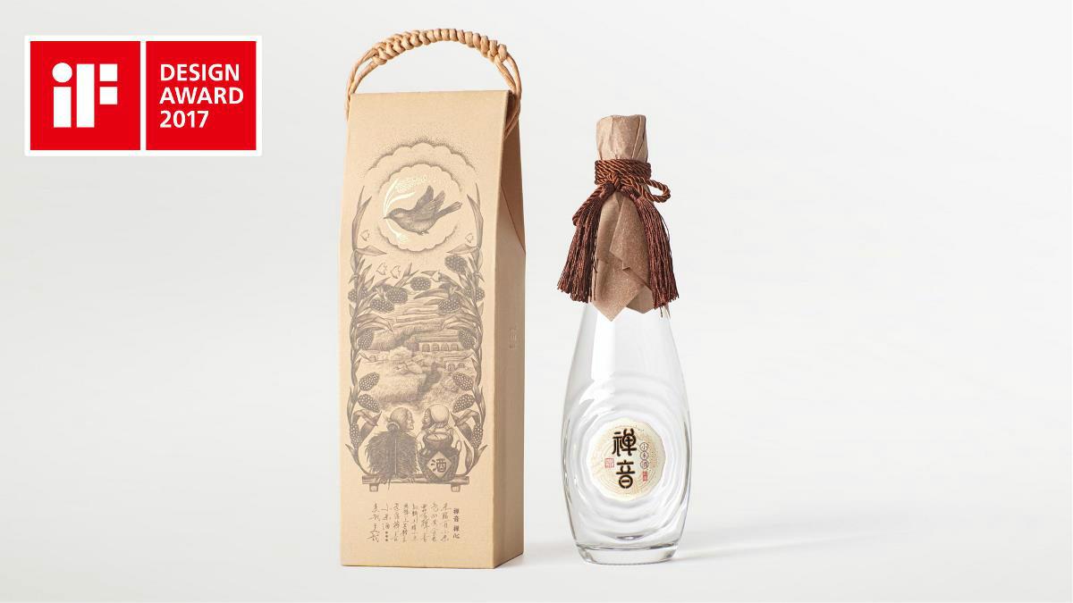 禅音小米酒包装设计