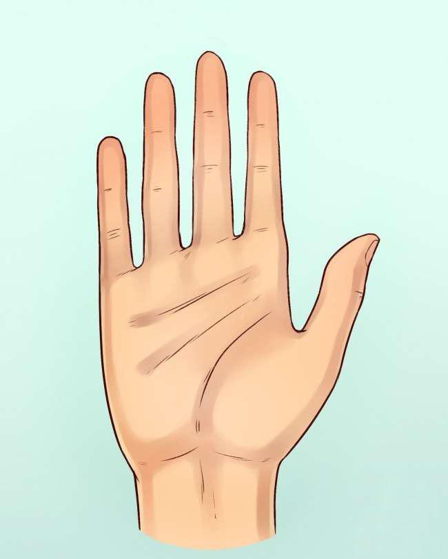 四种不同手掌外形,看出你的不