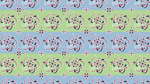 中国传统唐代服饰条纹花纹图案,
