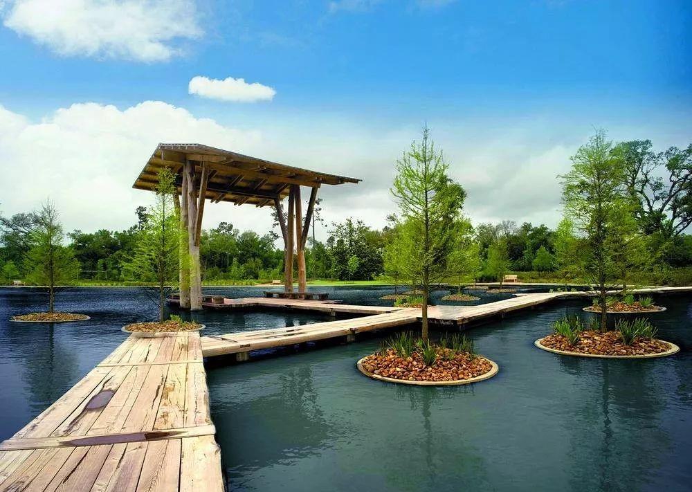 园林景观设计中水景的1