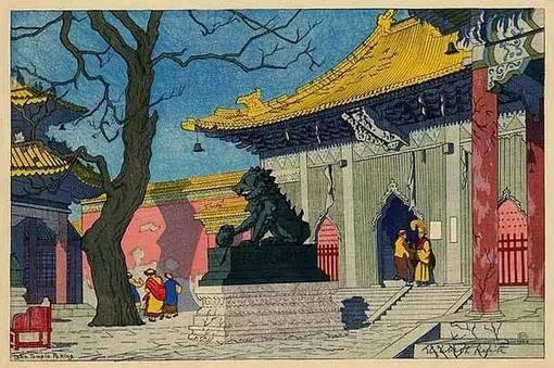 洋画家笔下的老中国:一抹古老