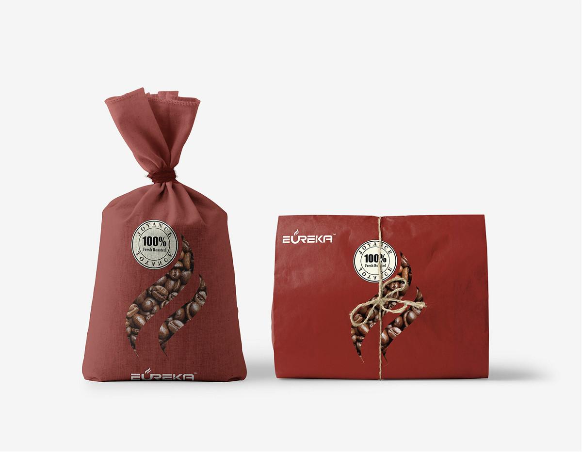 古朴中国风咖啡食品包装设计