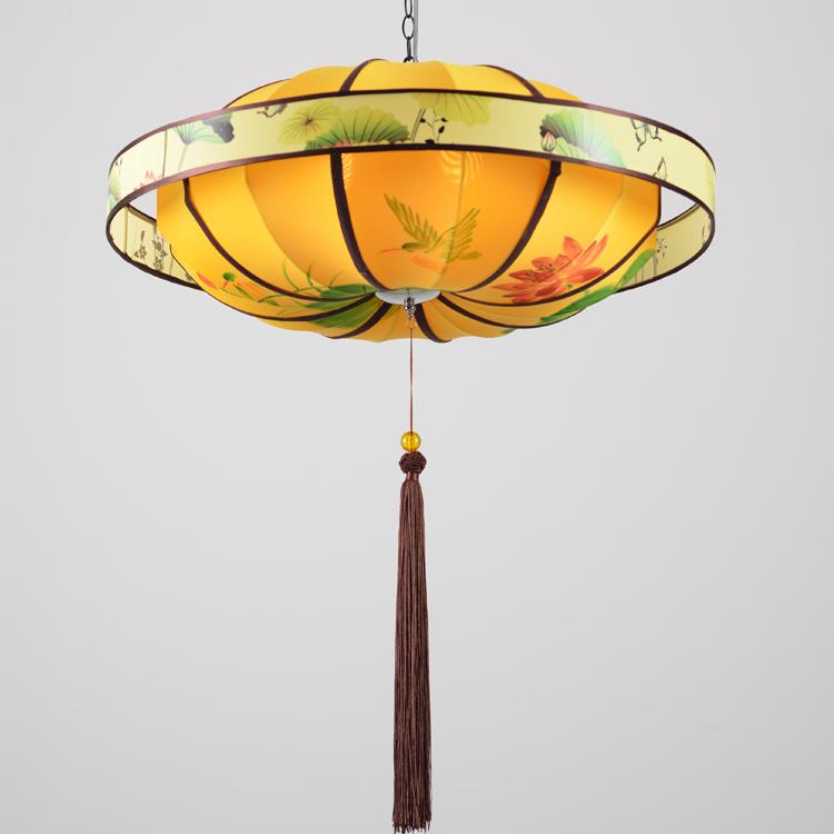 中国风灯笼式灯具,精美别致中
