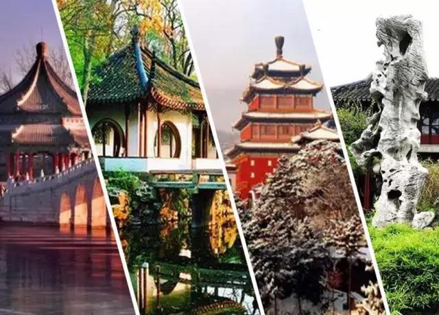 中国的四大名园,意想不