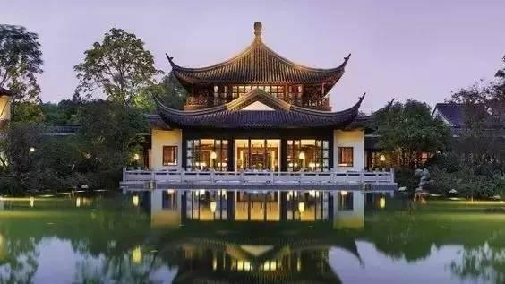 唯美中国古建筑:小桥流水、亭