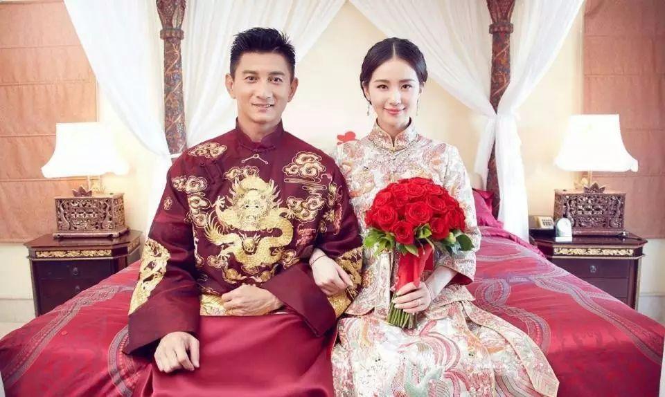 中式婚礼,走心的明星礼服