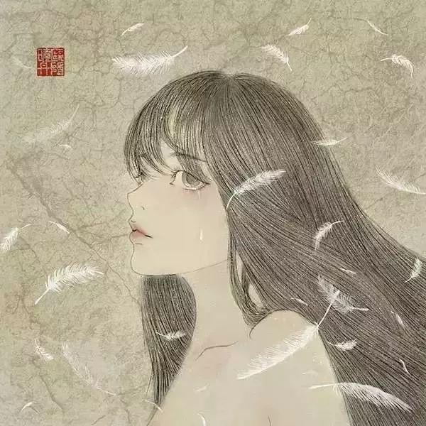 自带仙气的手绘插画,古典与现