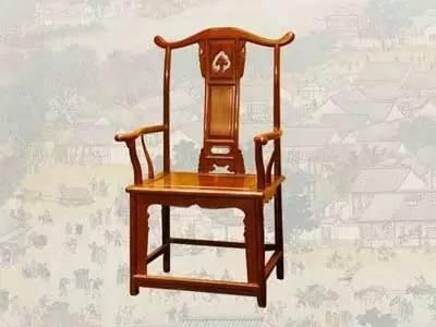 中式古典椅子:坐的其实