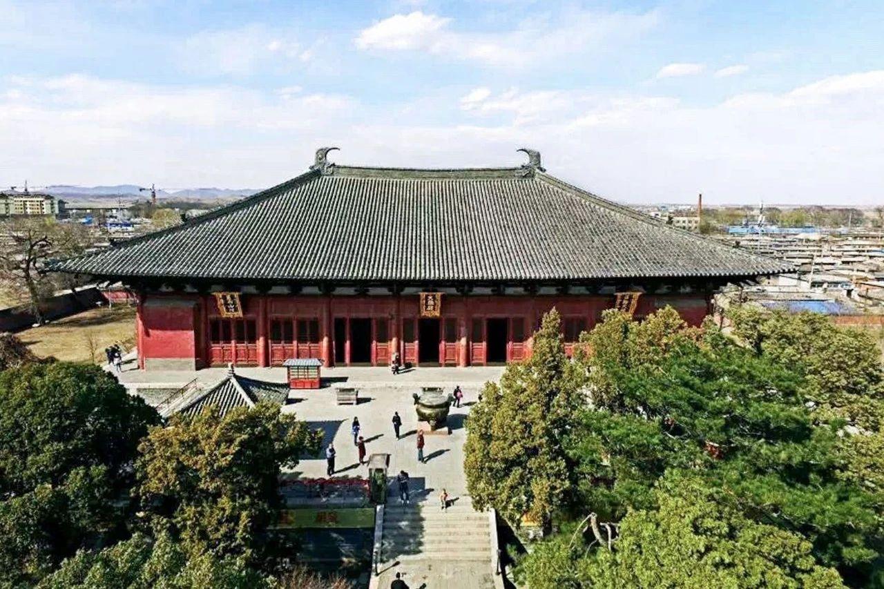 中国最美皇家寺庙:辽宁义县的