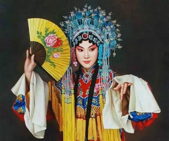 油画中的京剧人物,美的不可思