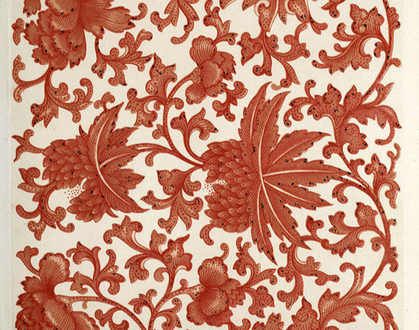 22款瓷器纹样:瓷器上的花