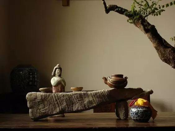 中式装饰,家虽小茶室亦可很精