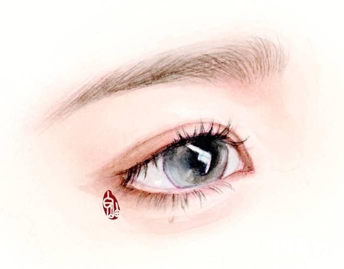 如何描绘惊艳迷人的眉眼?唯美
