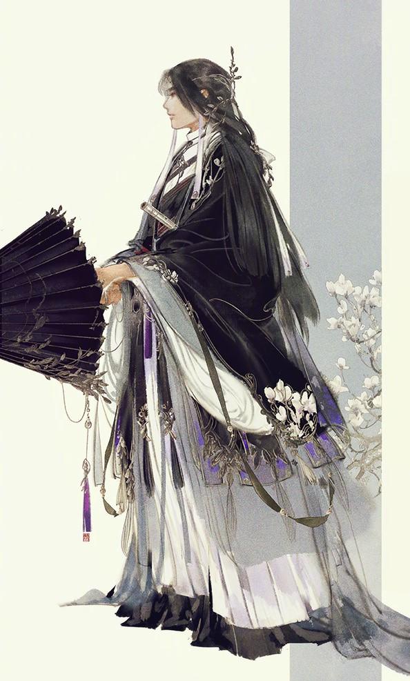 手绘剑三游戏人物成男图片,超