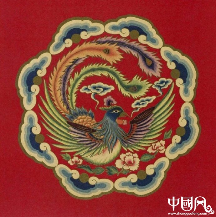 中国戏曲服装图案,精美的图案