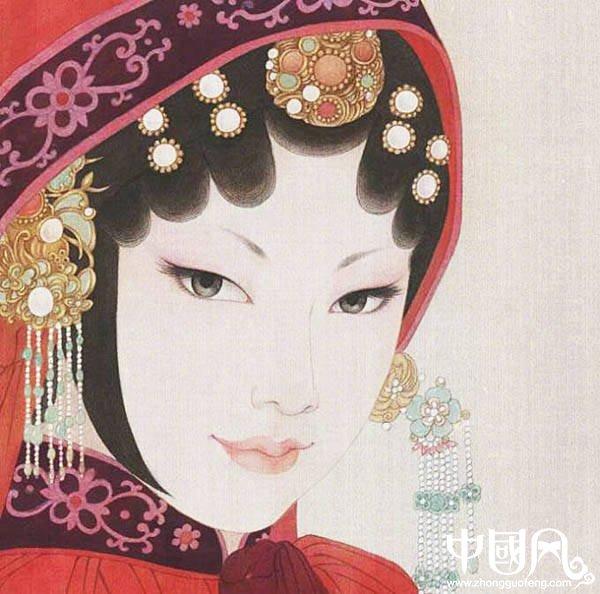 超美的京剧花旦人物图集