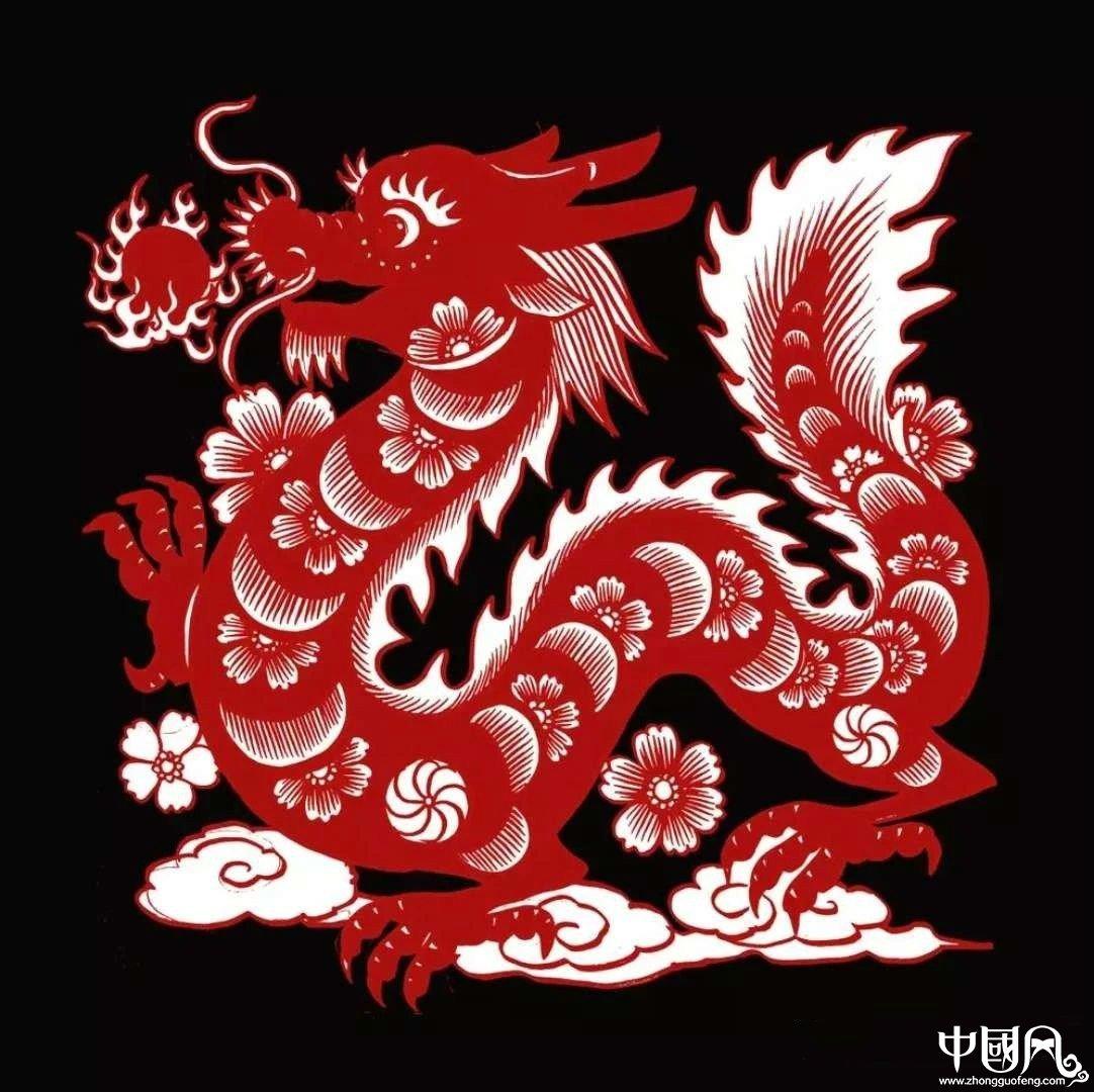 红与黑的剪纸艺术,曹文峰十二