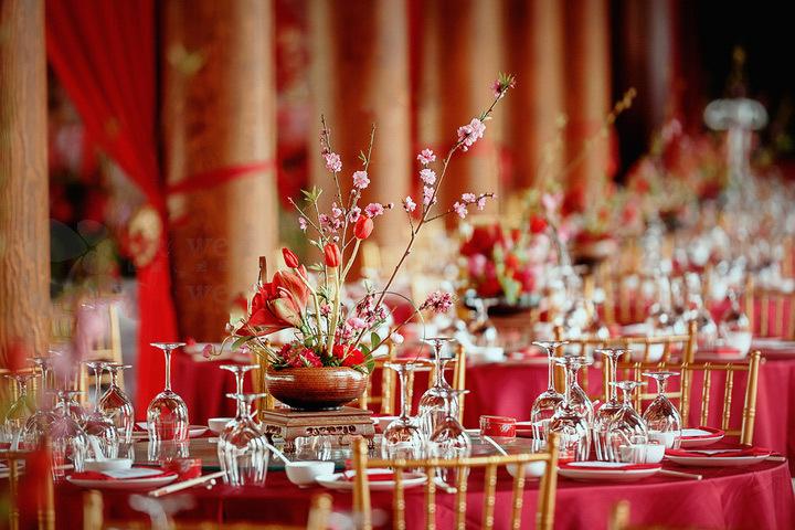 一场最美中国传统婚礼,中式婚