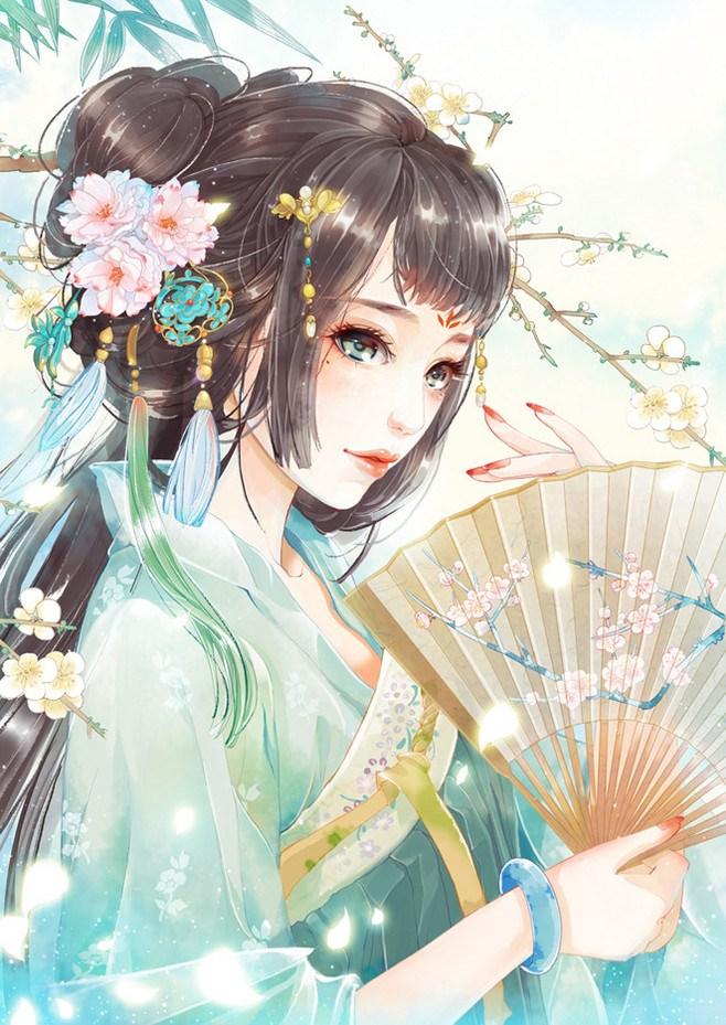那一袭妩媚的温柔 美女古风图片集 中国风