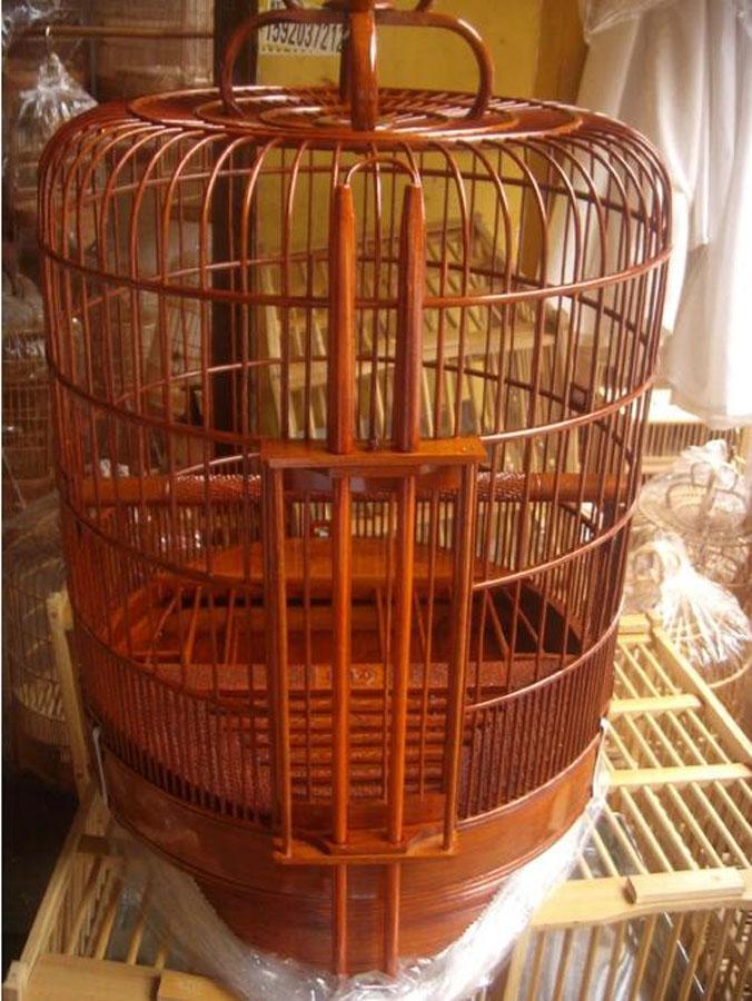 竹制鸟笼子