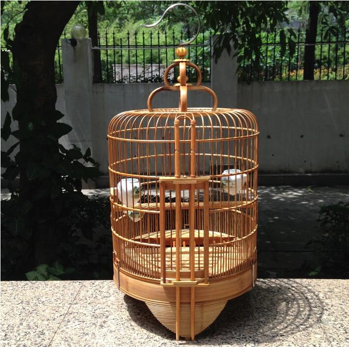 竹鸽子笼竹制竹鸟笼子