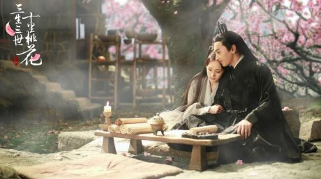 《三生三世十里桃花》的外景拍
