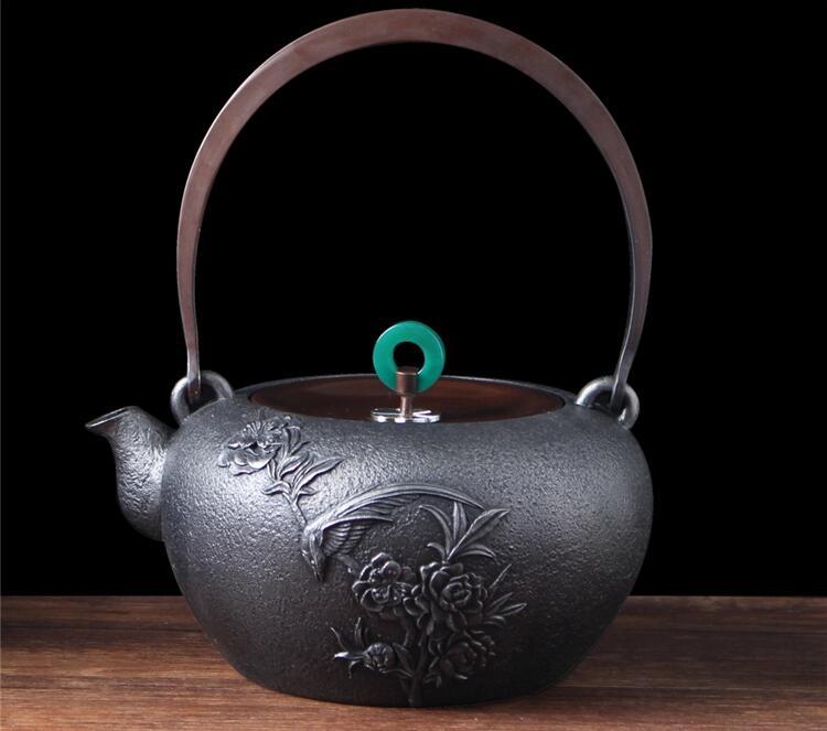日本无涂层纯手工铁壶的好处