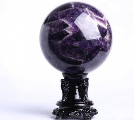 天然紫水晶球,紫水晶的