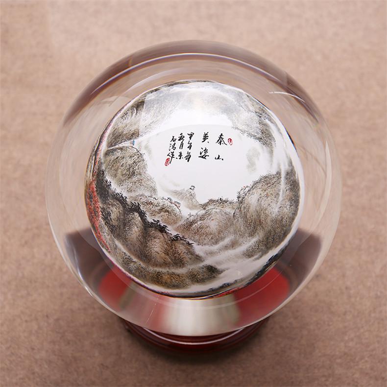 创意展宏图鹰水晶球,水晶是什么?