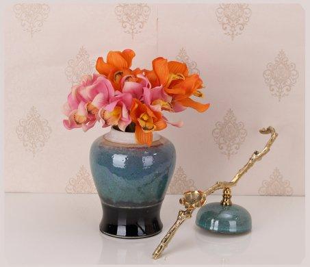 中式唐三彩客厅瓷器,唐