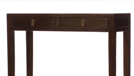 仿古田园实木家具,玄关柜案桌
