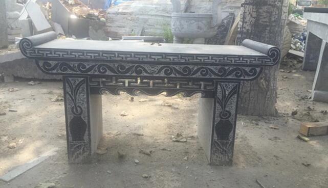 大理石石雕祭祀供奉案桌