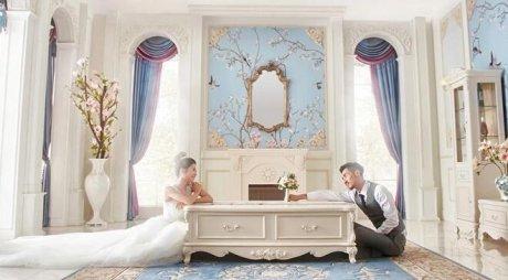 白色法式田园客厅茶桌