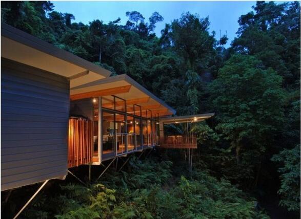 HP树屋豪宅:静谧山林中的亭台