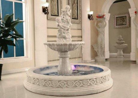 假山流水喷泉雕塑落地水景摆件