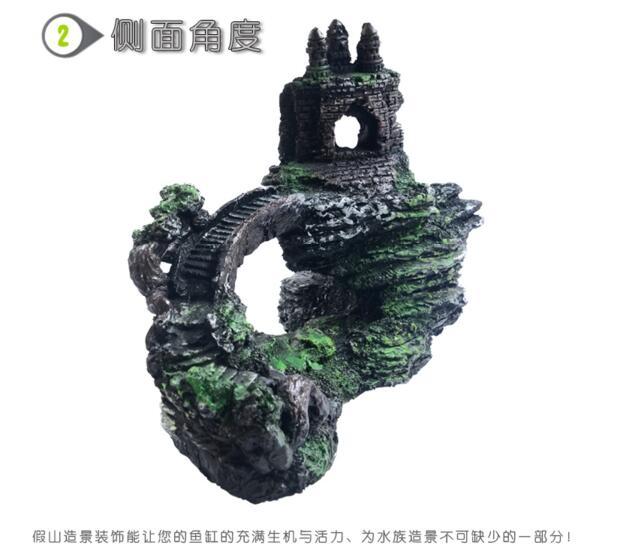 鱼缸水族箱,造景装饰摆件假山