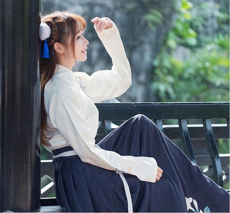 中国风女装改良汉服女古装