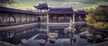 江南第一名湖,莫愁湖水
