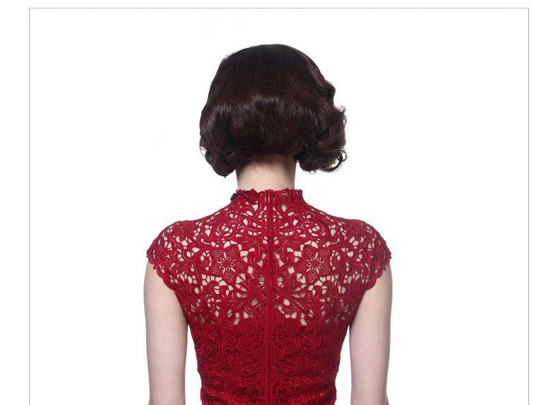 改良旗袍裙中式礼服