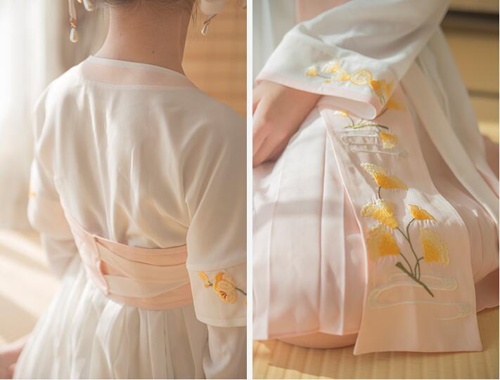 秋风词一体式连衣裙 汉服