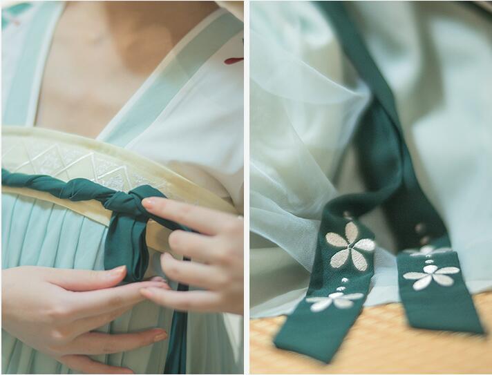 流萤一体式连衣裙 汉服