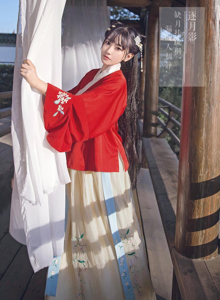 汉服 双层交领袄裙襦裙