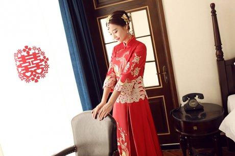 秀禾服新娘礼服嫁衣喜服中式婚