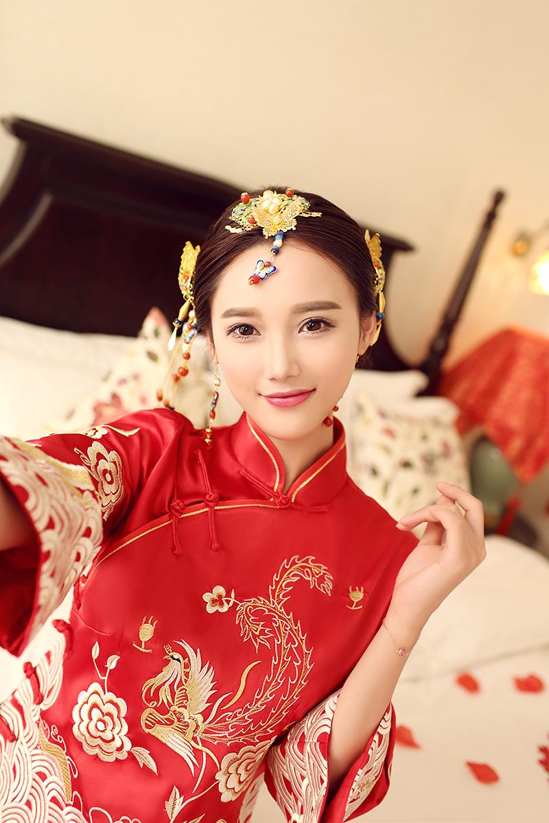 秀禾服新娘礼服嫁衣喜服中式婚纱礼服