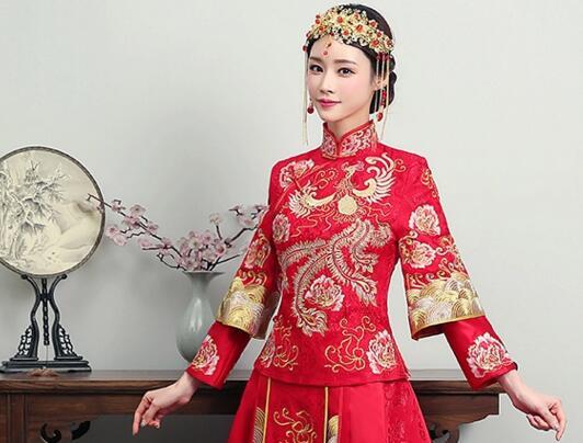 中式婚纱旗袍秀和服