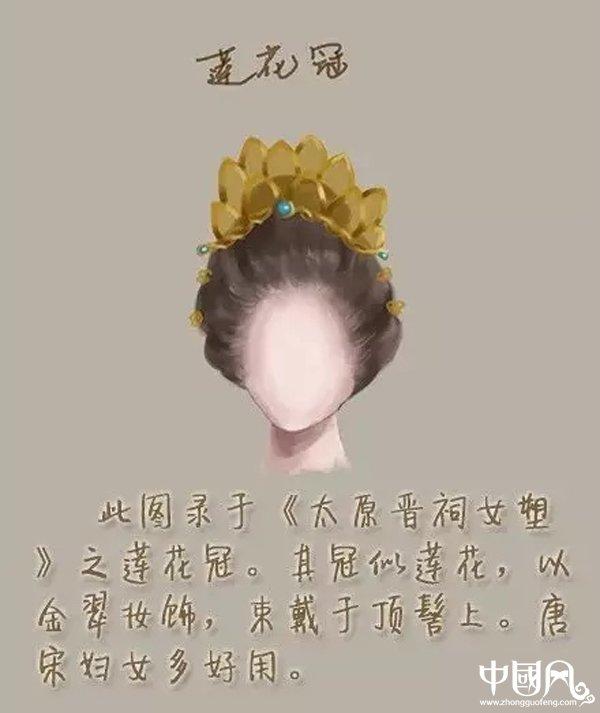 中国风女子古装发型参考(四)