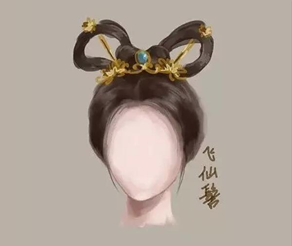 中国风女子古装发型参考(五)