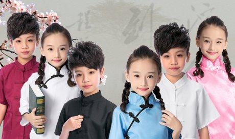 儿童男女童民国五四青年装